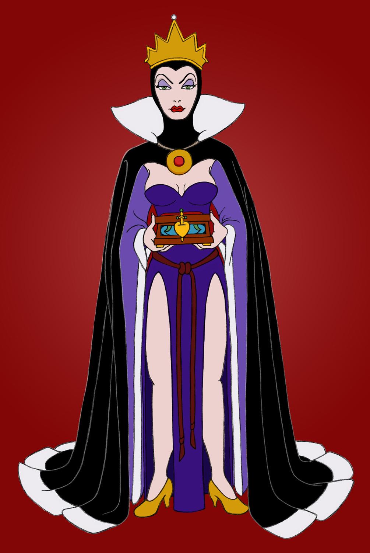The Evil Queen by Papillon82 on DeviantArtDisney Evil Queen Art