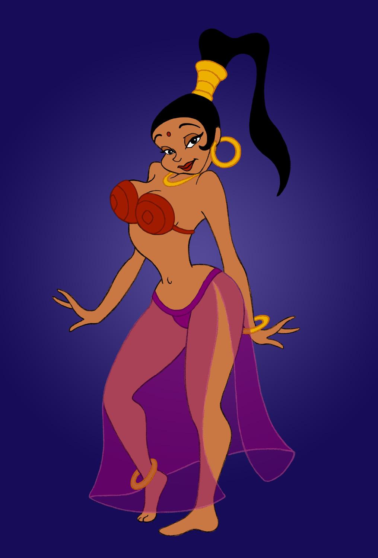 Aladdin sexy girls picture 15
