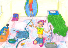 young tecna: Tiny Tots contest by ponetium