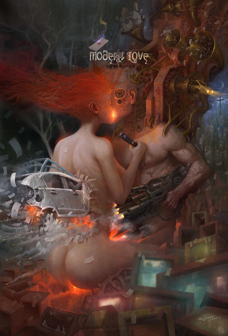 Modern love by yangxueguo