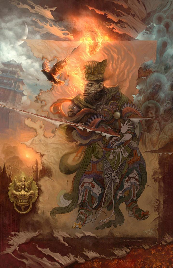 God of Door by yangxueguo