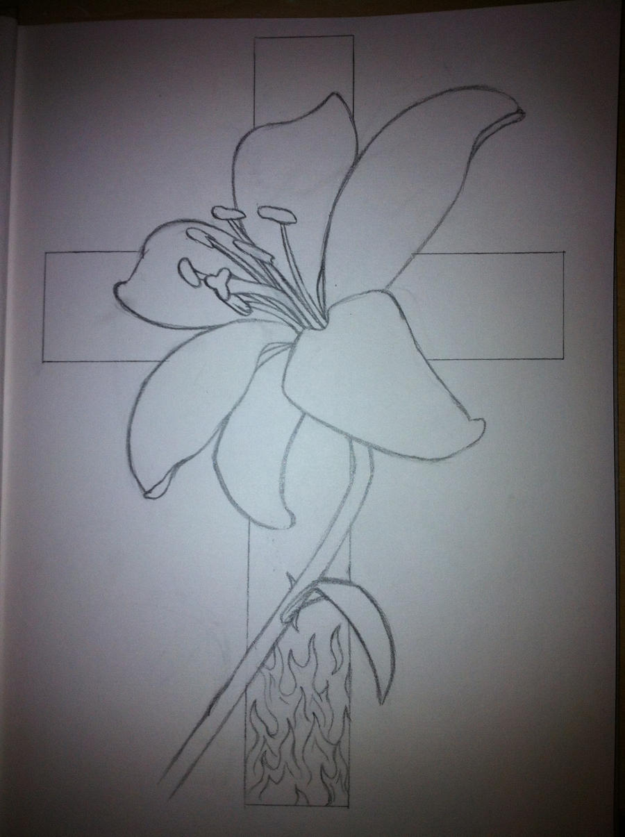 Cross Tattoo Designs Outline