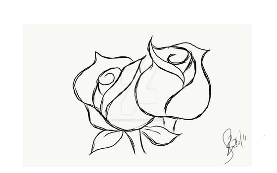 Flowers - Drawing 1