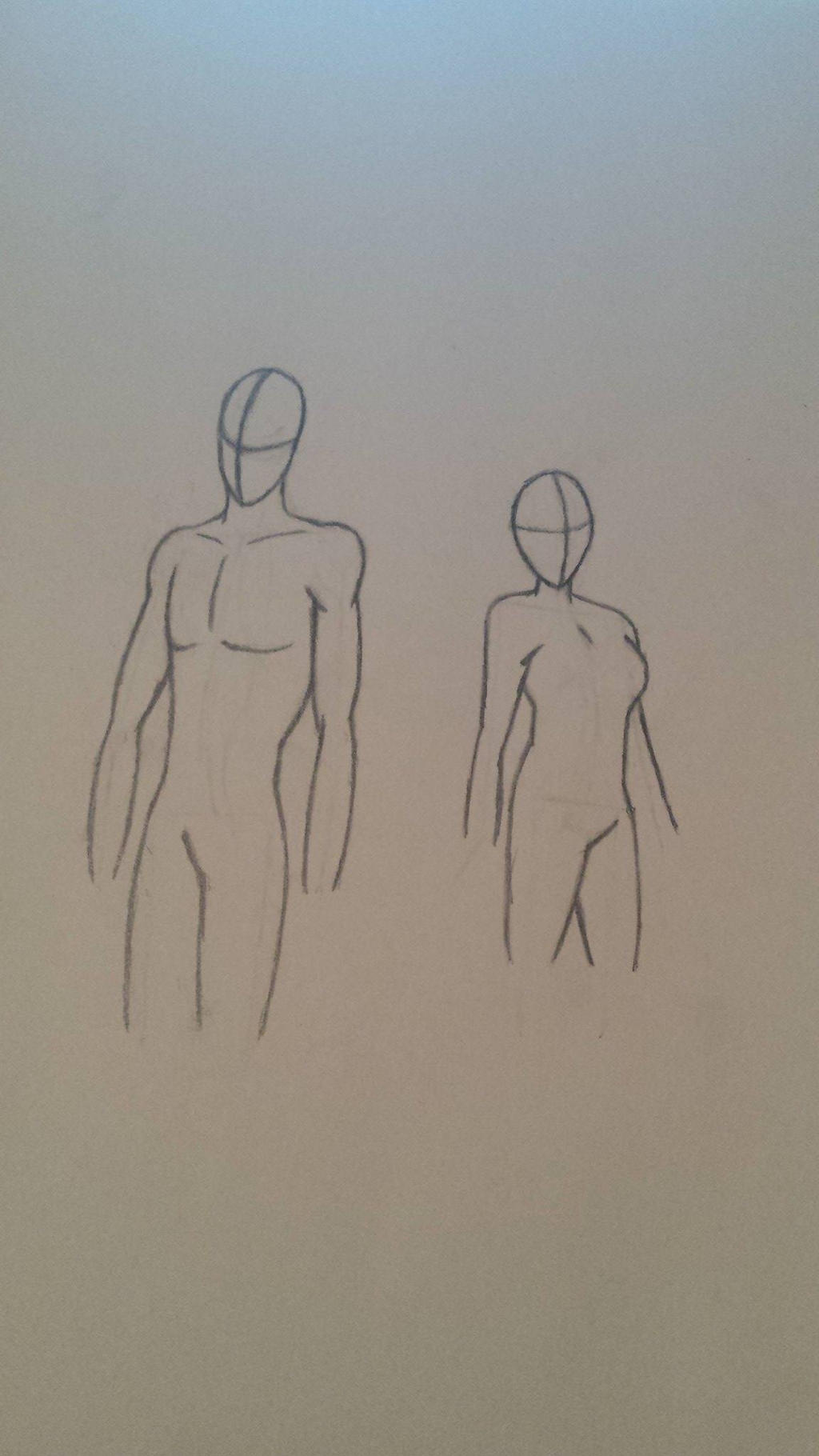 Male and Female Body Practice by MosakeJarakio