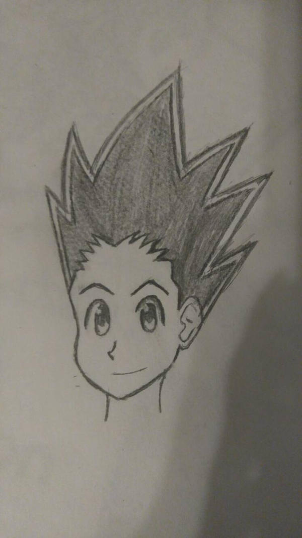 Gon Freecss (10 minute drawing challenge) by MosakeJarakio