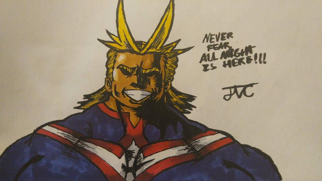 All Might (Pens Only) by MosakeJarakio