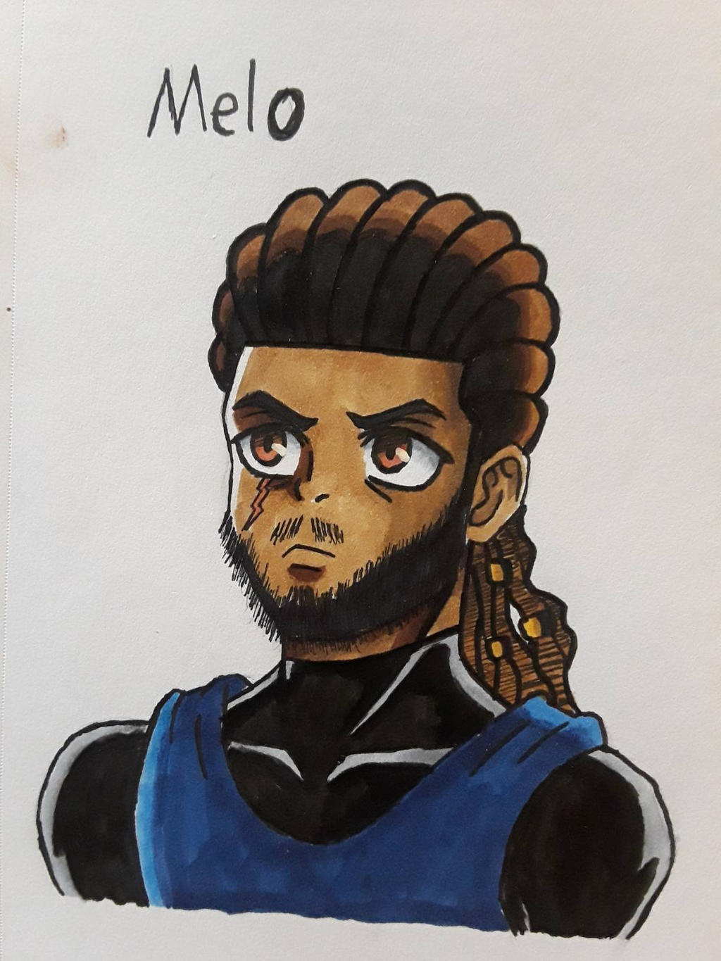 Melo (Commission)  by MosakeJarakio