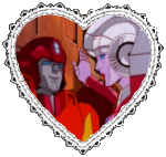 Hot Rod and Arcee Heart Stamp by Dragon-Star-Empress