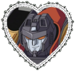 Armada Starscream Heart Stamp by Dragon-Star-Empress