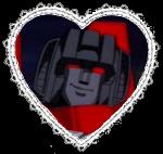 G1 Starscream Heart Stamp by Dragon-Star-Empress