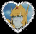 Power Joe Heart Stamp by Dragon-Star-Empress