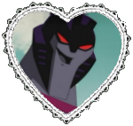 Animated Starscream Heart Stamp by Dragon-Star-Empress