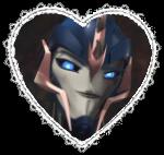 Prime Arcee Heart Stamp