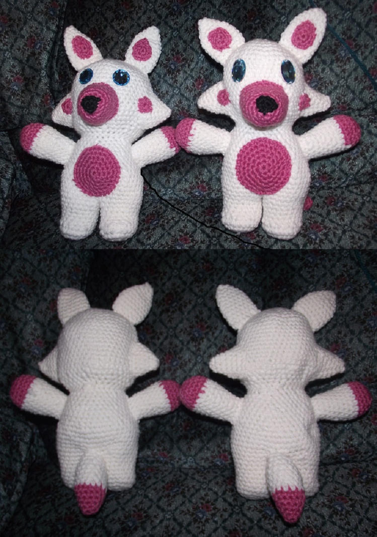 Mangle Plush Commission by Dragon-Star-Empress