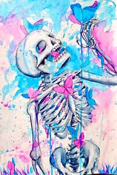 Were just bones