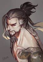 Overwatch - Hanzo by ChinRo
