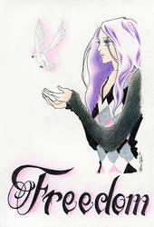 Freedom :Ao-Haru-Ride Fan Art