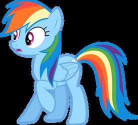 Rainbow Dash Taken Aback by HaveBKYourWay