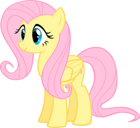 Fluttershy Side/Front by HaveBKYourWay