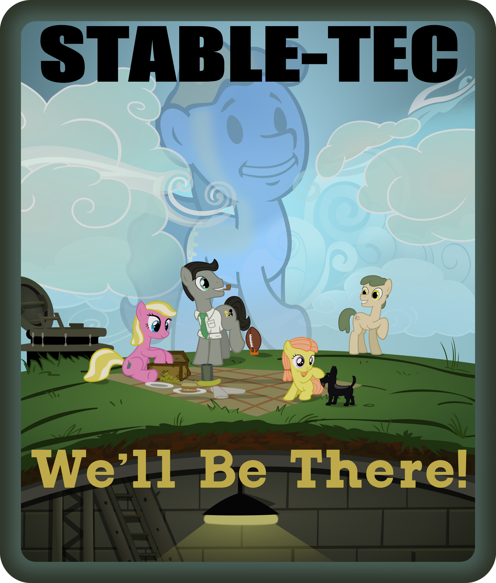 Stable-Tec Poster by HaveBKYourWay