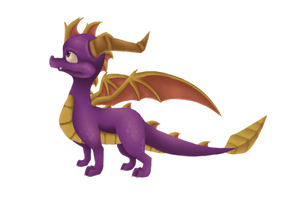 FanArt: Spyro The Dragon (Anb version) by cabbij
