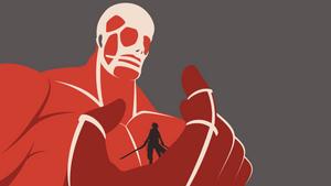 Attack on Titan - Colossal Titan wallpaper