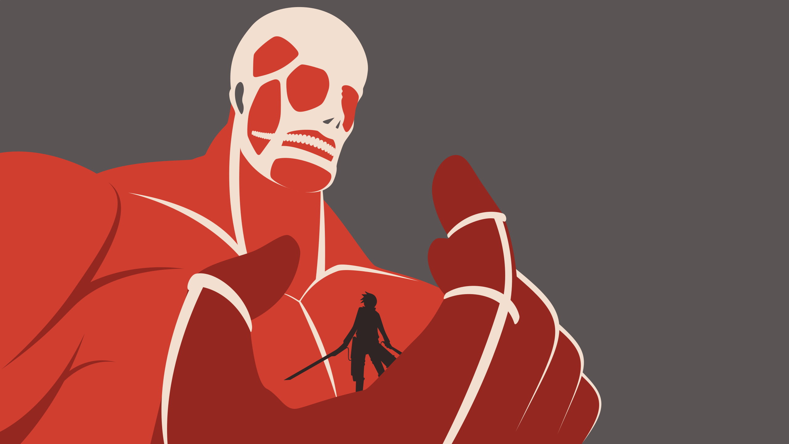Attack On Titan Colossal Titan Wallpaper By Carionto On Deviantart