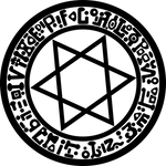 YuGiOh Magic Circle vector