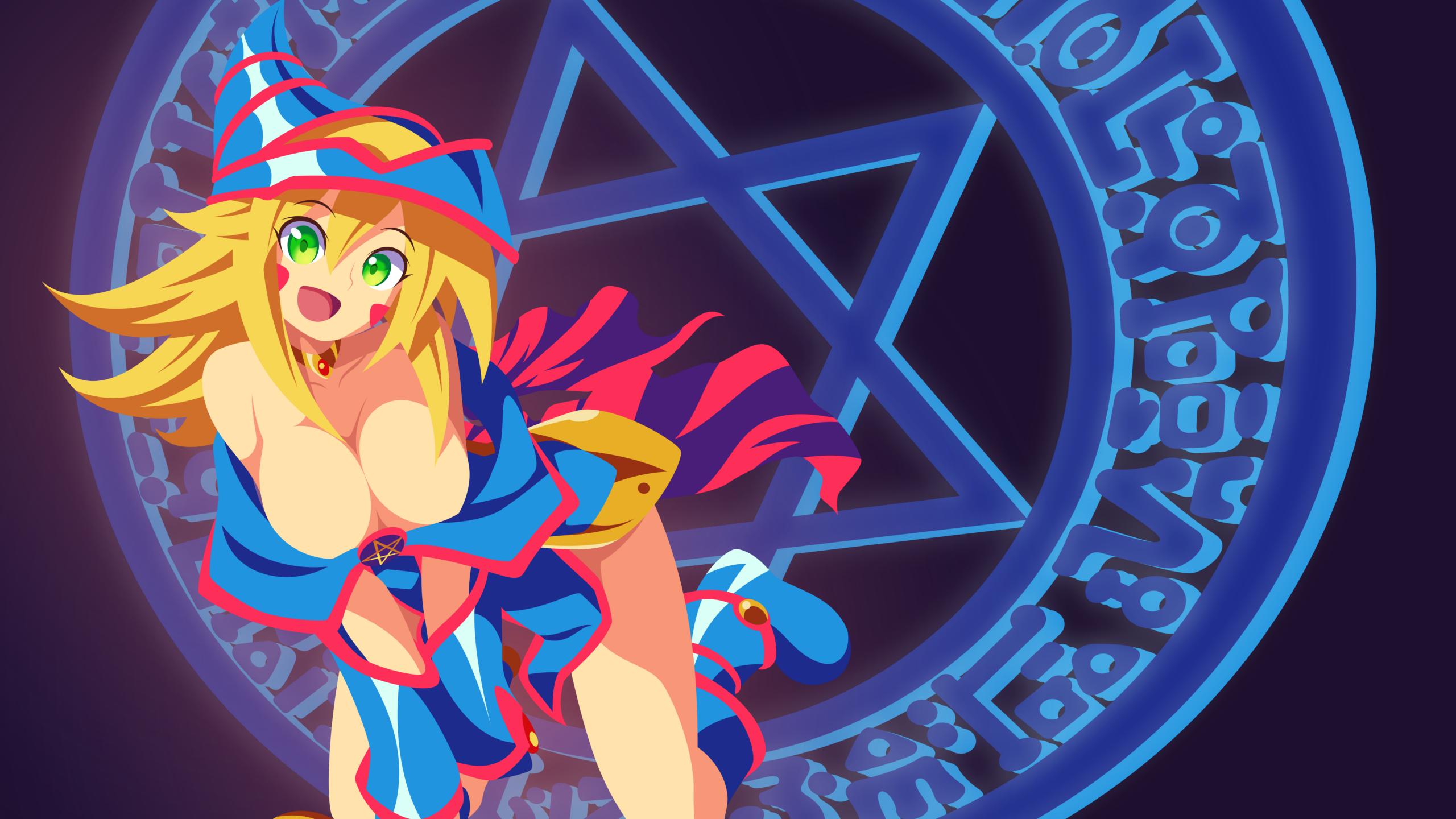 Yugioh Dark Magician Girl Wallpaper By Carionto On Deviantart