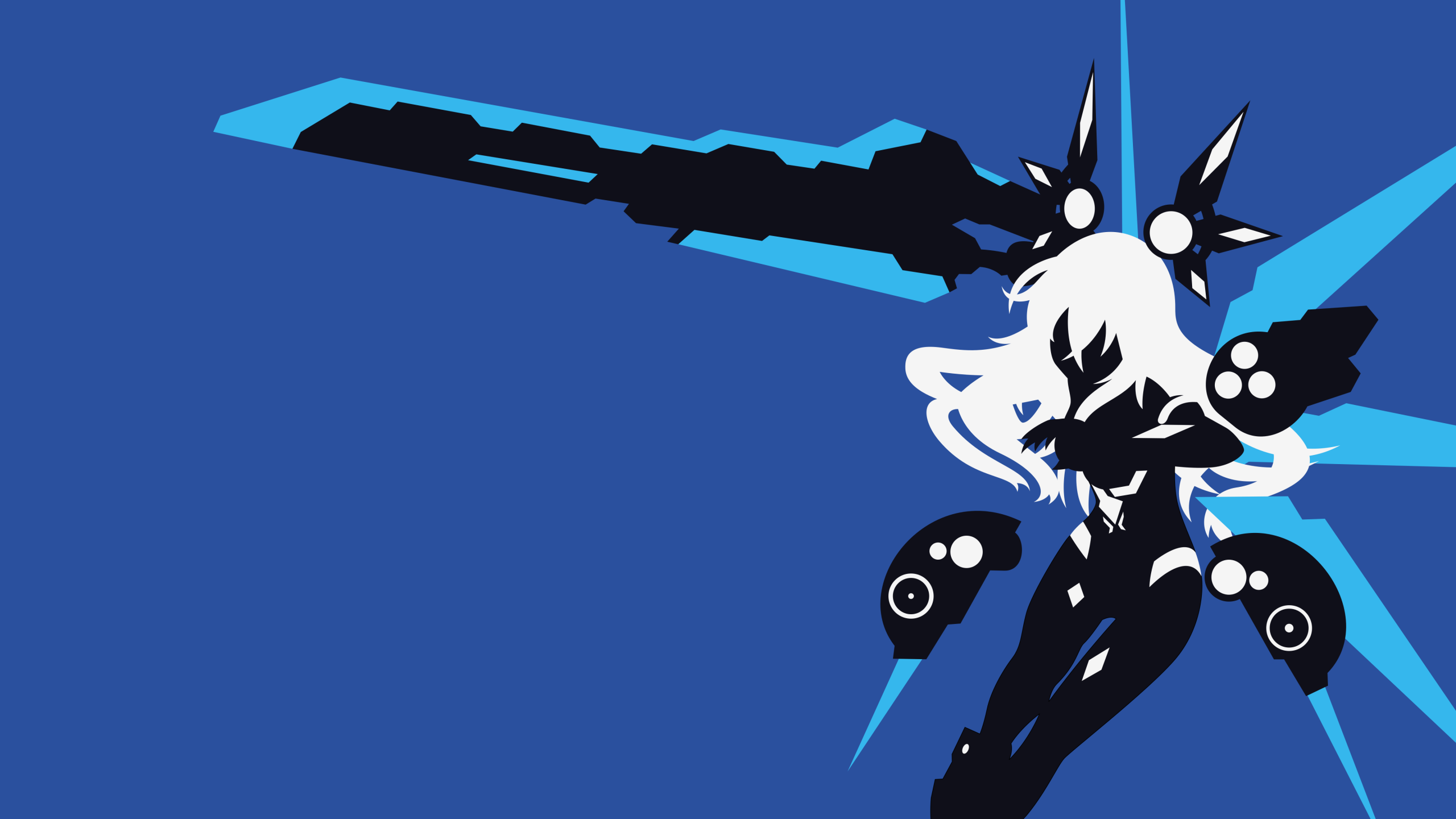Hyperdimension Neptunia Black Heart Wallpaper By Carionto On