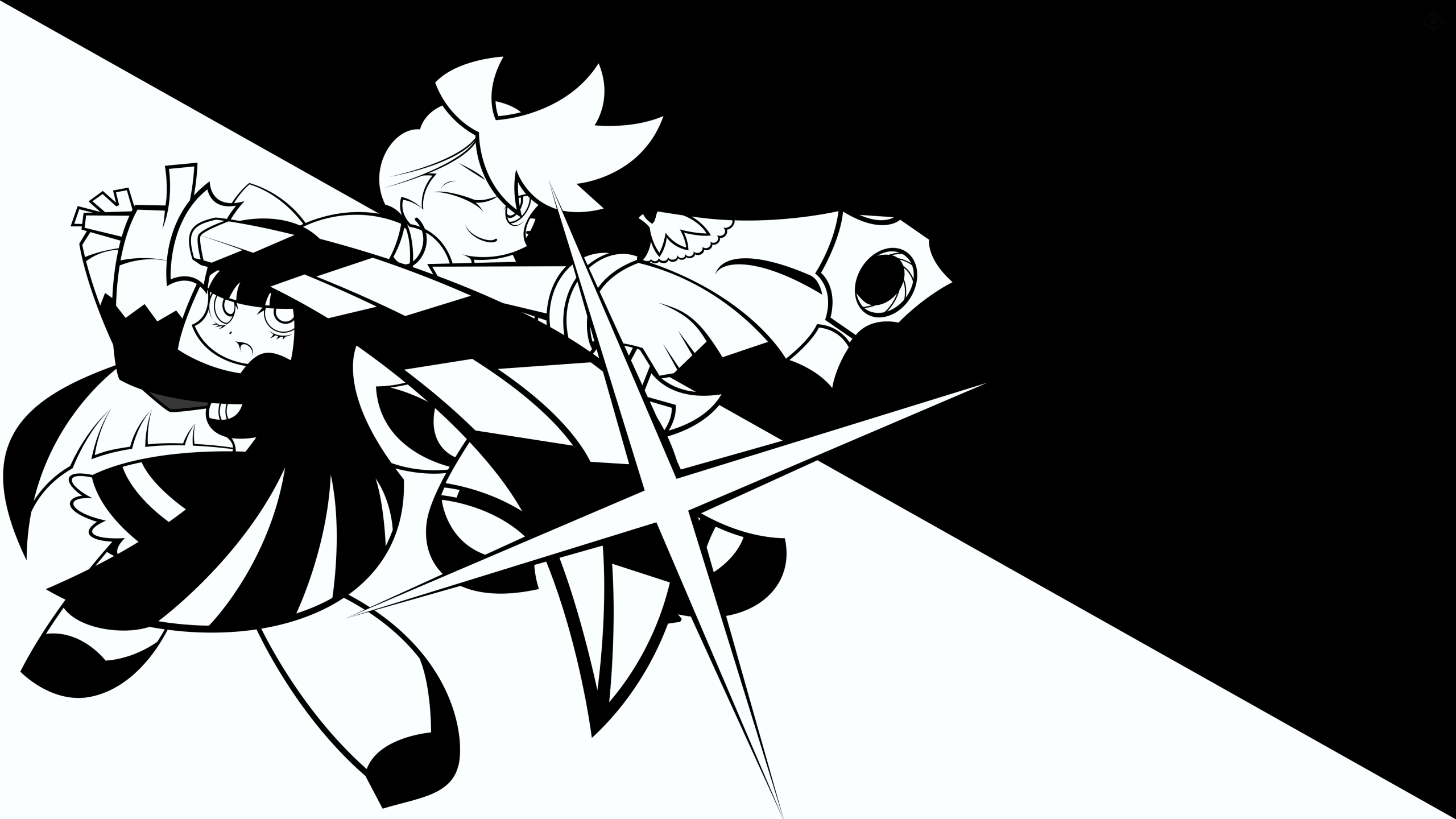 Panty And Stocking Wallpaper By Carionto On Deviantart