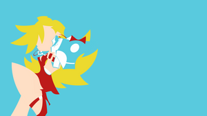 Panty and Stocking - Panty minimalism wallpaper by Carionto