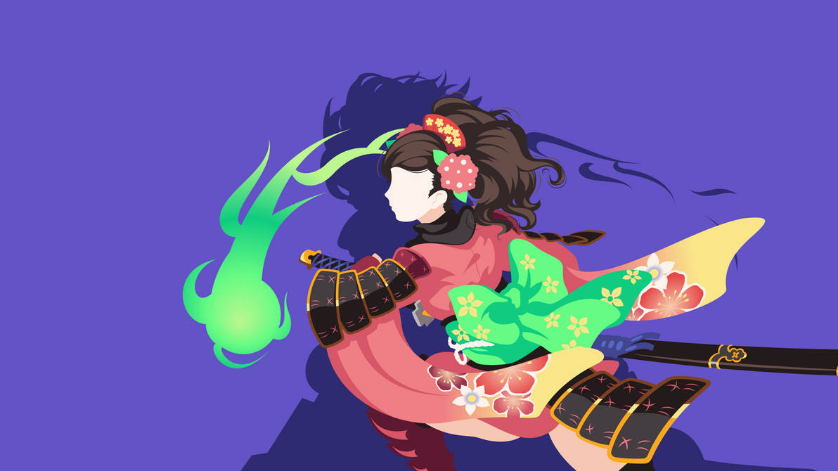 Muramasa The Demon Blade Momohime Wallpaper By Carionto On