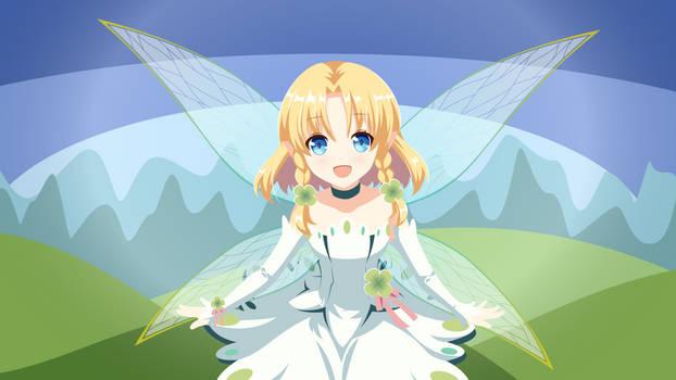 Eternal Senia - Little Fairy minimalism wallpaper2