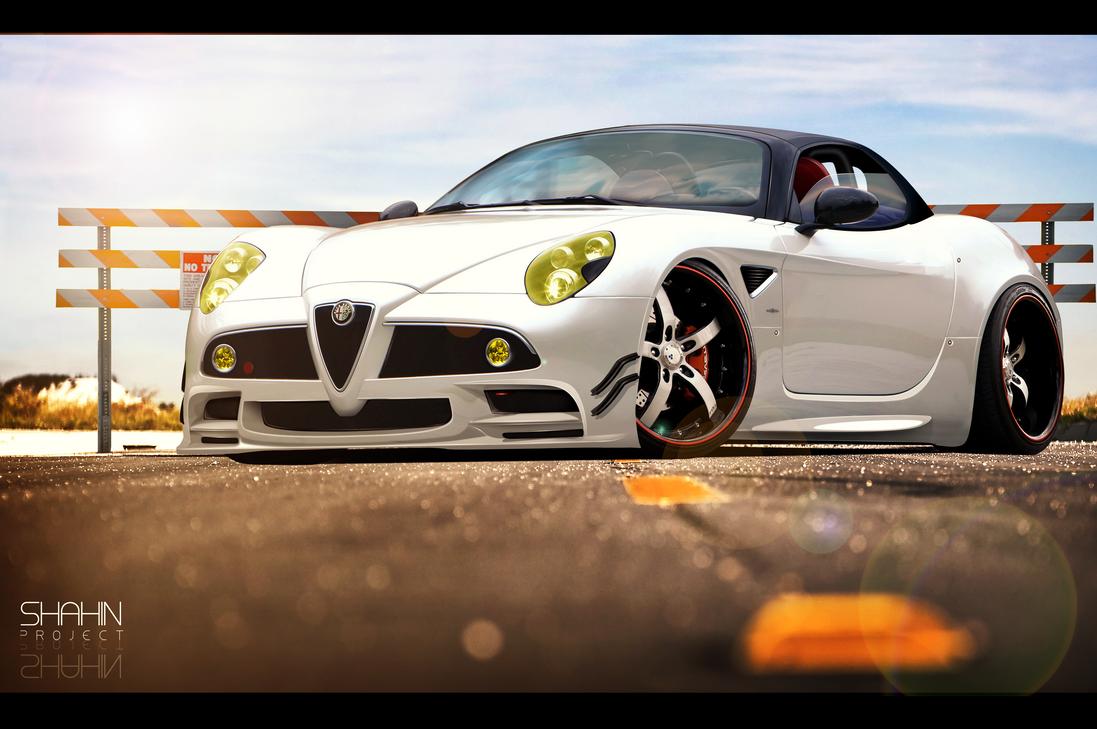 Alfa Romeo 8C by tuninger