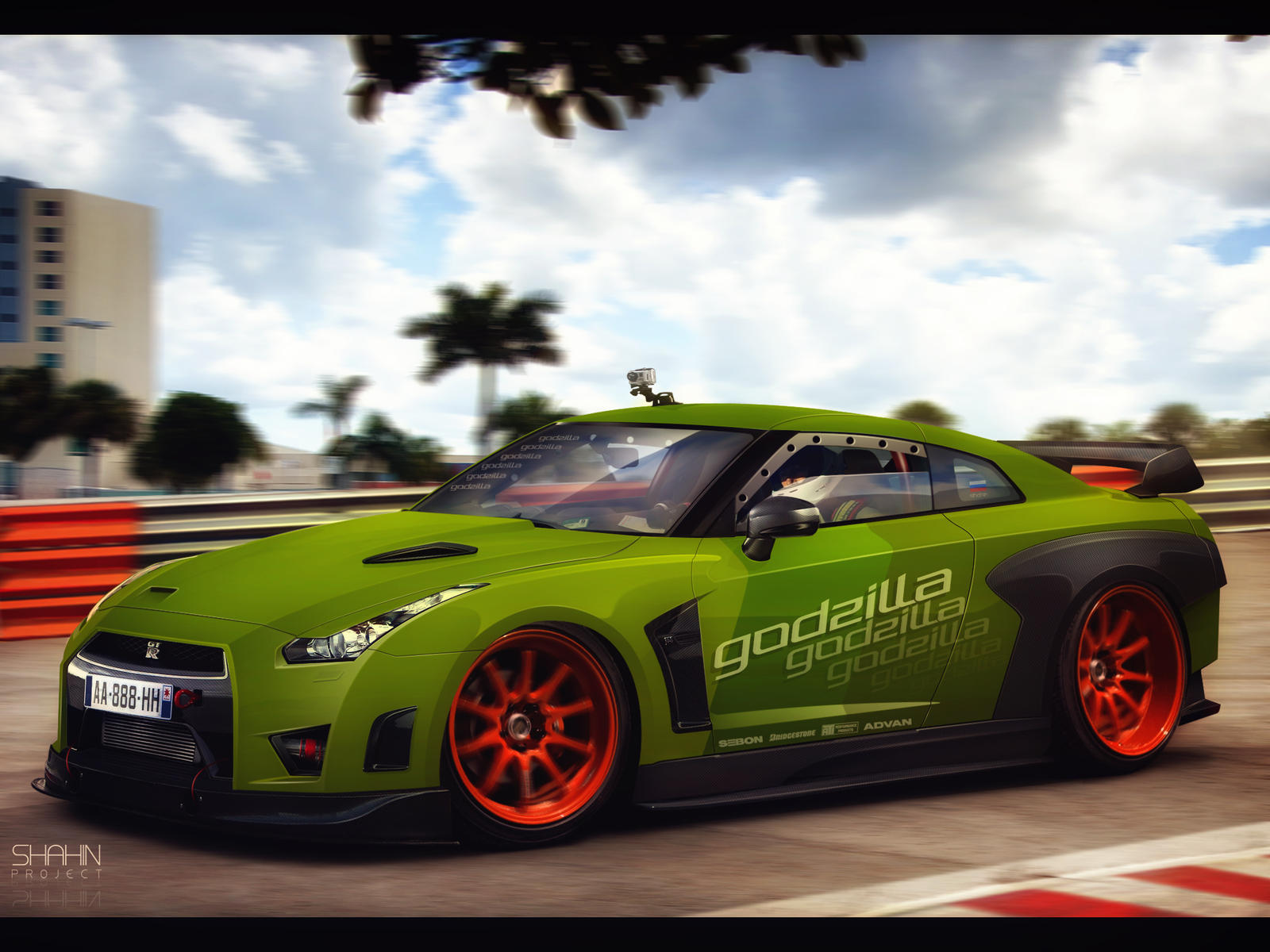 Skyline GT-R35 GODZILLA by tuninger