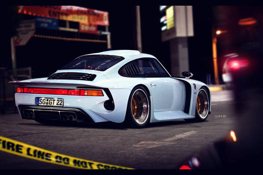 Porsche 959 Moby-Dick