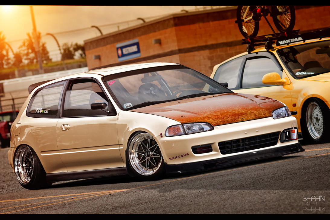 Honda Civic MocoChoco by tuninger