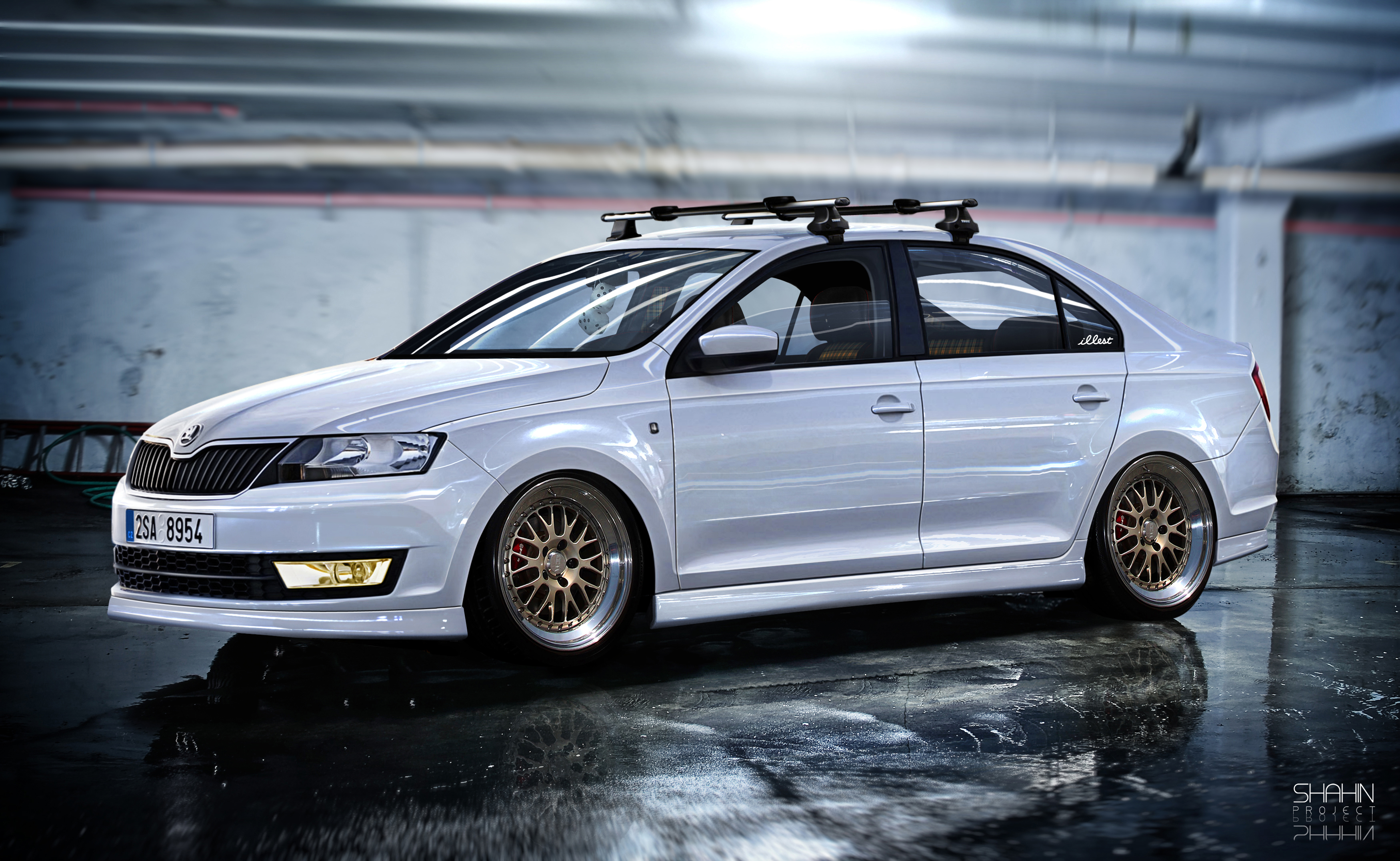 Skoda Rapid (dAVT V) by tuninger