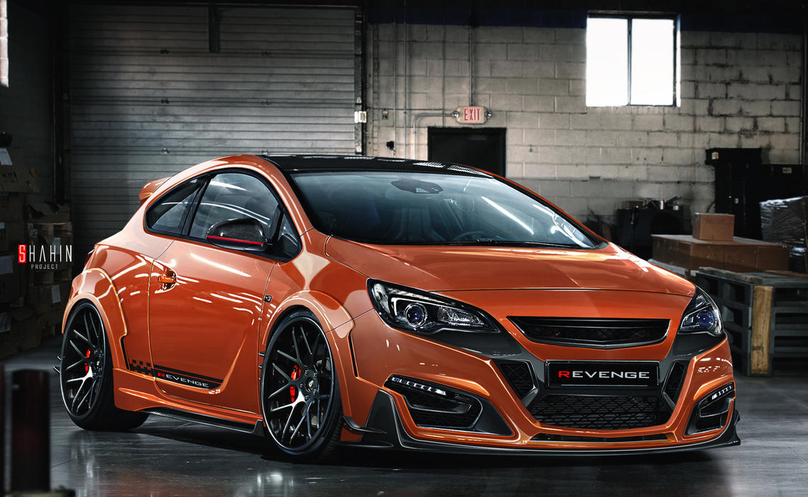 opel gtc revenge astra vxr by tuninger on deviantart. Black Bedroom Furniture Sets. Home Design Ideas