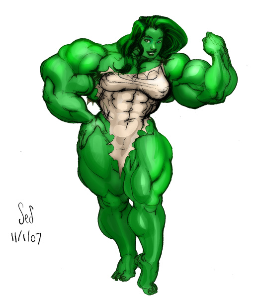 She Hulk 3 by Jebriodo