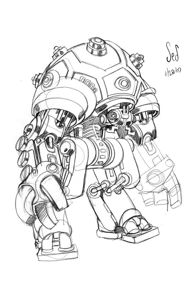 Robot by Jebriodo