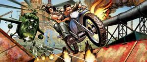 HighSeasColor: Motocross Chase by Jebriodo