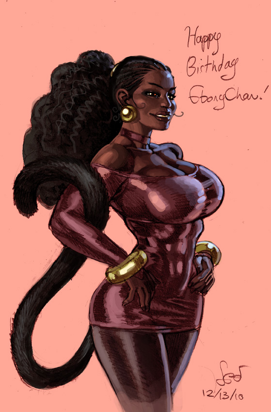 Sexual Ebony Pictures Drawings 86