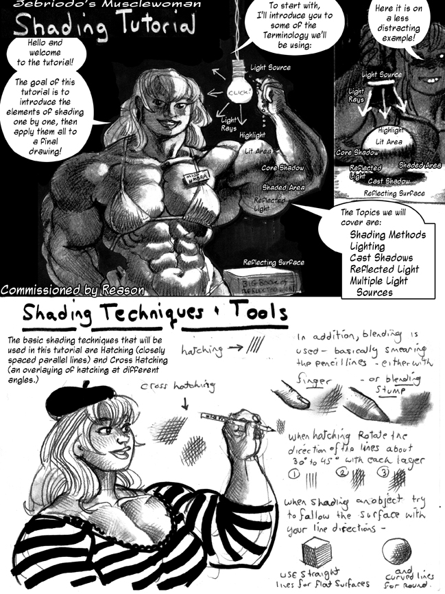 Shading Tutorial Page 1 by Jebriodo