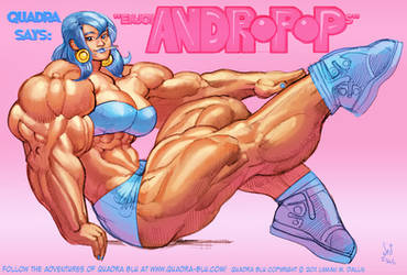Quadra Blu Andropop by Jebriodo