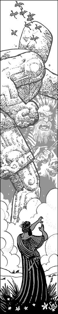 Commission: Statue vs Waha
