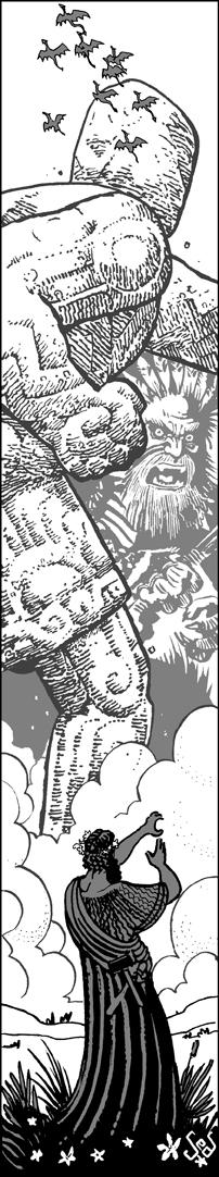 Commission: Statue vs Waha by Jebriodo