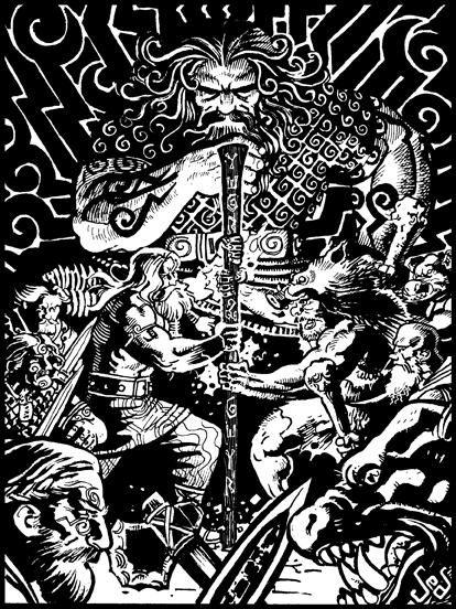 Commission: Lawstaff by Jebriodo