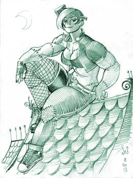 DrasticAction's Frankengirl